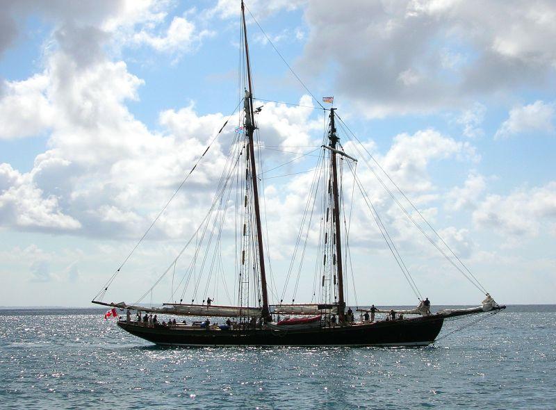 sailing ship, marine binoculars