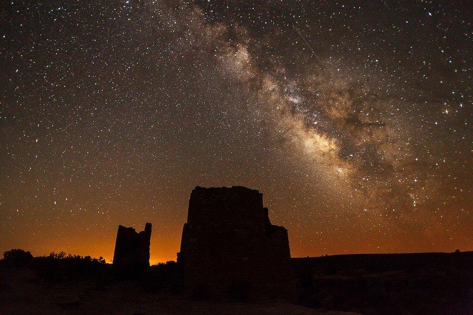 Milky Way with Celestron binoculars