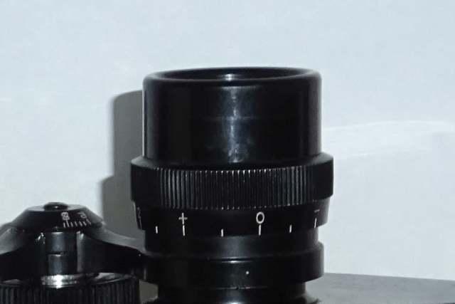 binocular parts diopter adjustment