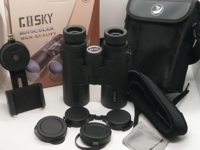 Gosky 10×42 HD Roof Prism Binoculars